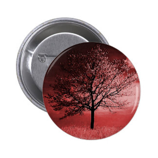 Cherry Blossom Tree Painting - Pink Pins