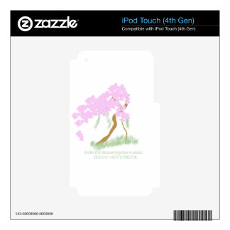 Cherry Blossom Tree Skins For iPod Touch 4G