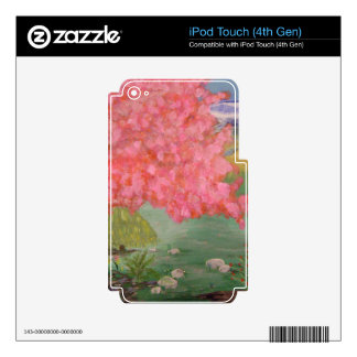 Cherry Blossom Tree iPod Touch 4G Decals