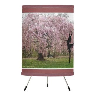 Cherry Blossom Tree Spirit Tripod Lamp