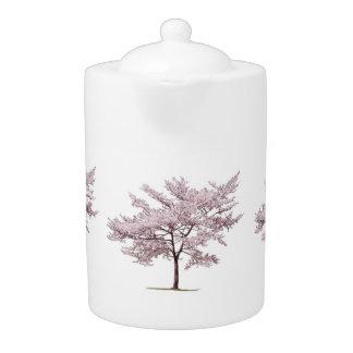 Cherry Blossom Tree Teapot