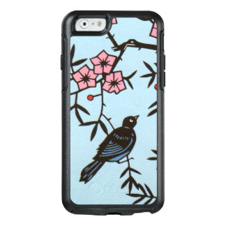 Cherry Blossom Tree With Black Bird Berries OtterBox iPhone 6/6s Case