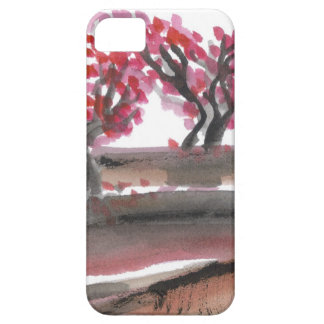 Cherry Blossom Trees Phone Case
