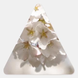 Cherry Blossom Triangle Sticker
