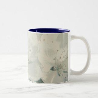 Cherry Blossom Two-Tone Coffee Mug