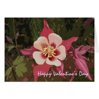 Cherry Blossom Valentine's Day Card