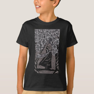 Cherry Blossom Warrior by Carter L Shepard T-Shirt