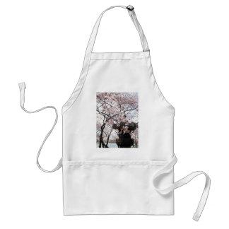 Cherry Blossom Washington DC Adult Apron