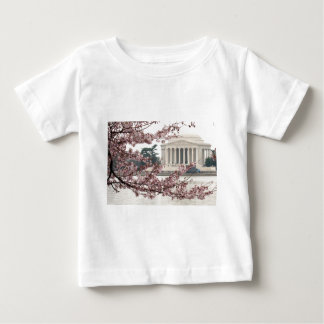 Cherry Blossom Washington DC Baby T-Shirt