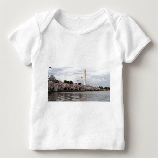 Cherry Blossom Washington DC Baby T-Shirt
