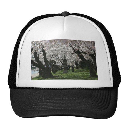 Cherry Blossom Washington DC Trucker Hat
