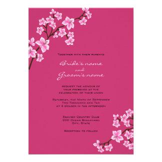 Fuschia Wedding Invitations 600 Fuschia Wedding Announcements