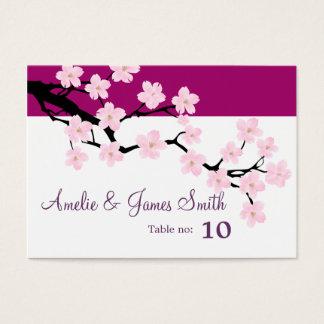 Cherry Blossom   Wedding Place Cards