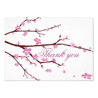 Cherry Blossom Wedding Thank You Cards