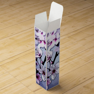 Cherry blossom wine gift boxes