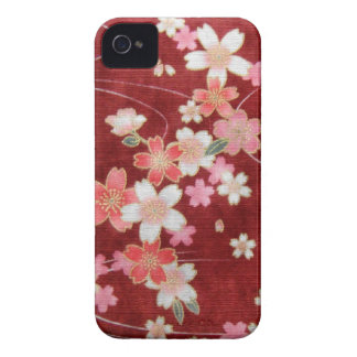 CHERRY BLOSSOM WISP - KIMONO PRINT COLLECTION iPhone 4 COVERS