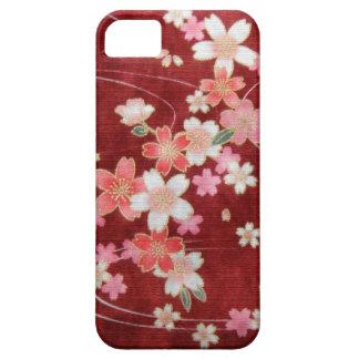 CHERRY BLOSSOM WISP - KIMONO PRINT COLLECTION iPhone SE/5/5s CASE