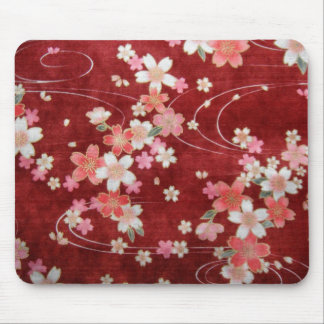 CHERRY BLOSSOM WISP MOUSE PAD
