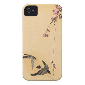 Cherry blossom with birds by Ohara Koson Case-Mate Blackberry Case