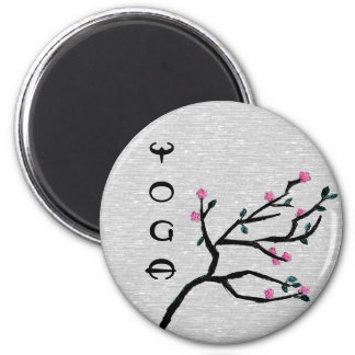 Cherry Blossom - Yoga Magnets