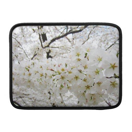 Cherry Blossoms 12 Macbook Air Sleeve