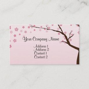 Cherry blossom tree business cards zazzle cherry blossoms 2 business card colourmoves