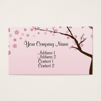 Cherry Blossoms 2 Business Card