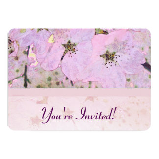 Cherry Blossoms 2 Pink Card