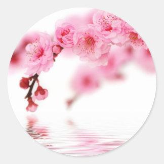 Cherry Blossoms 3 Classic Round Sticker