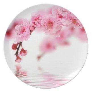 Cherry Blossoms 3 Melamine Plate