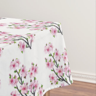 Cherry Blossoms 4 Tablecloth