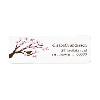 Cherry Blossoms Address Labels