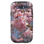 Cherry Blossoms and Bee Pink Spring Floral Samsung Galaxy SIII Cover