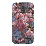 Cherry Blossoms and Bee Pink Spring Floral Galaxy S5 Case
