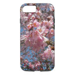 Cherry Blossoms and Bee Pink Spring Floral iPhone 7 Case