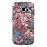 Cherry Blossoms and Bee Pink Spring Floral Samsung Galaxy S6 Case
