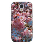 Cherry Blossoms and Bee Samsung Galaxy S4 Case