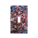 Cherry Blossoms and Blue Sky Spring Floral Light Switch Cover
