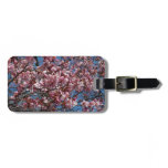 Cherry Blossoms and Blue Sky Spring Floral Luggage Tag