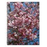 Cherry Blossoms and Blue Sky Spring Floral Notebook