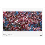Cherry Blossoms and Blue Sky Spring Floral Wall Sticker