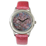 Cherry Blossoms and Blue Sky Spring Floral Wristwatch