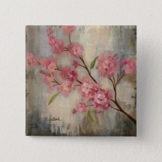 Cherry Blossoms and Branch Button