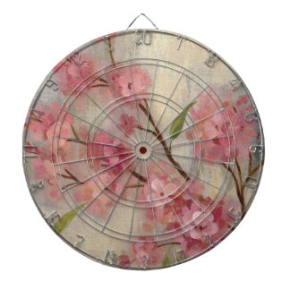 Cherry Blossoms and Branch Dartboard