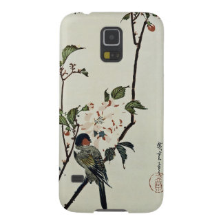 Cherry Blossoms and Small Bird Galaxy S5 Case