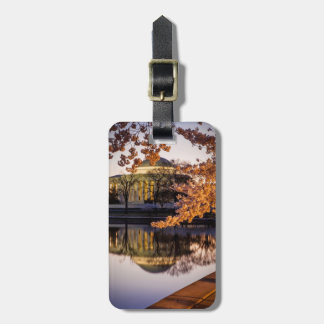Cherry Blossoms And The Jefferson Memorial 2 Tag For Luggage