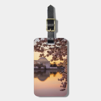 Cherry Blossoms And The Jefferson Memorial Bag Tag