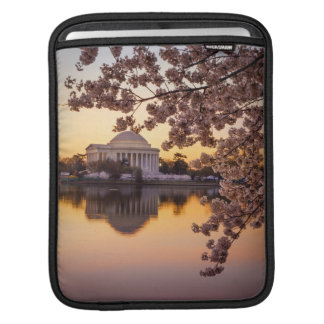 Cherry Blossoms And The Jefferson Memorial iPad Sleeves