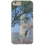 Cherry Blossoms and the Washington Monument Barely There iPhone 6 Plus Case
