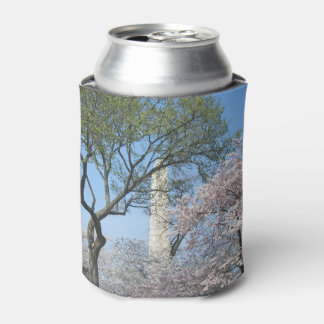 Cherry Blossoms and the Washington Monument in DC Can Cooler